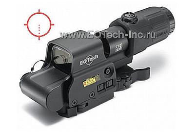 Голографический коллиматорный прицел EOTech EXPS3-4 и увеличитель G33 HHS I